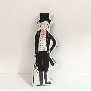 Mr. Darcy Pillow